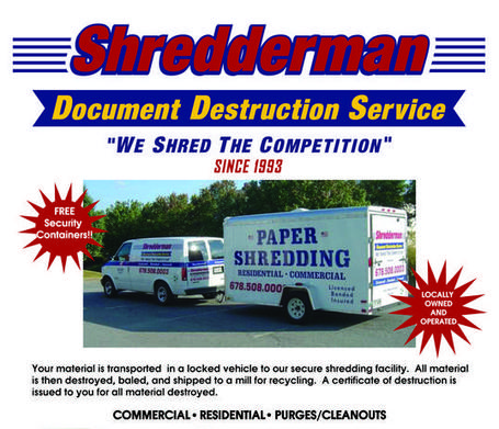 paper shredding atlanta Recycle locations keep atlanta beautiful, inc hosts two recycling centers each month that serve atlanta and surrounding areas secure paper shredding.